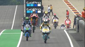 All the action from the first Free Practice session of the Moto3™ World Championship at the #GermanGP.