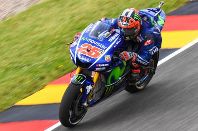 Viñales: 'I was struggling in the wet'