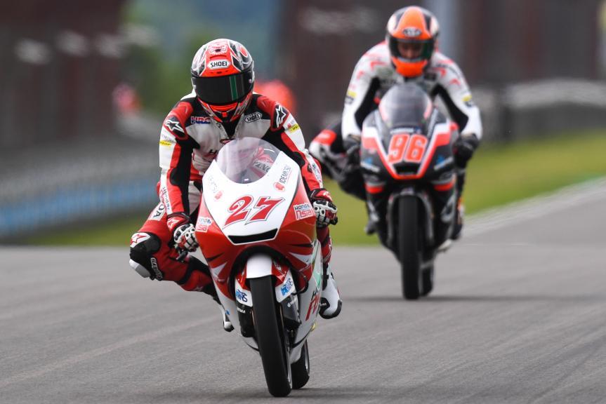 Kaito Toba, Honda Team Asia, GoPro Motorrad Grand Prix Deutschland