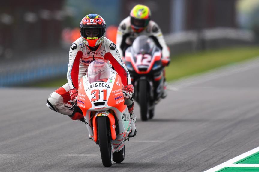 Raul Fernandez, Mahindra MRW Aspar Team, GoPro Motorrad Grand Prix Deutschland