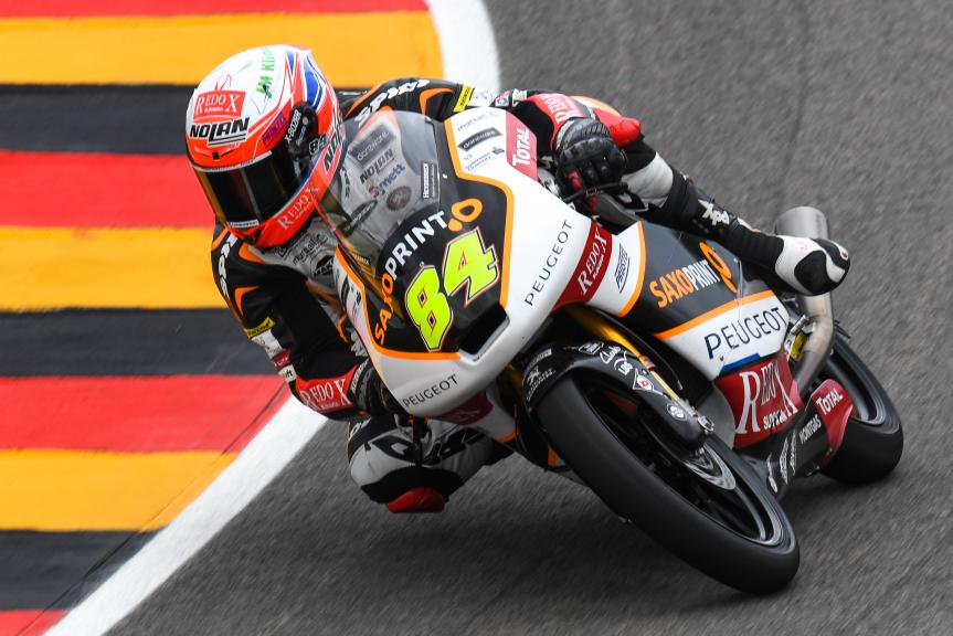 Jakub Kornfeil, Peugeot MC Saxoprint, GoPro Motorrad Grand Prix Deutschland
