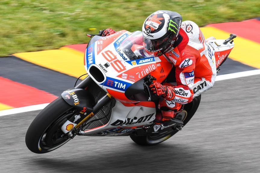 Jorge Lorenzo, Ducati Team, GoPro Motorrad Grand Prix Deutschland