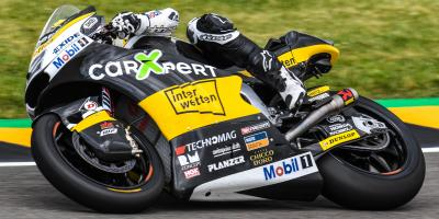 Lüthi and Schrötter lead the charge at the Sachsenring
