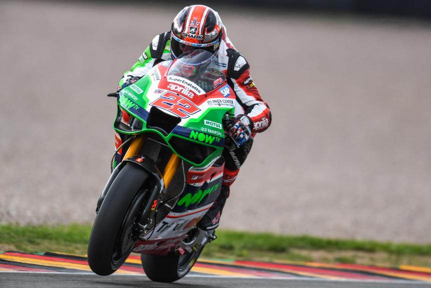 Sam Lowes, Aprilia Racing Team Gresini, GoPro Motorrad Grand Prix Deutschland