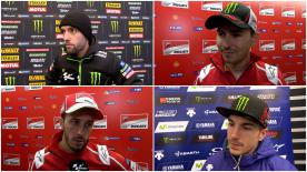 The  MotoGP™ riders give us feedback at the #GermanGP.
