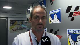 Michelin Racing's Motorsport Two-Wheel Manager, Piero Taramasso, explains Michelin's point of view about Saturday's sessions