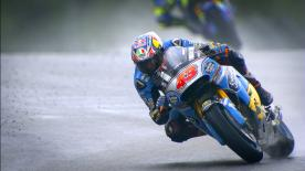 Catch all the superb detail from the Sachsenring with this slow motion footage, filmed during qualifying at the #GermanGP.