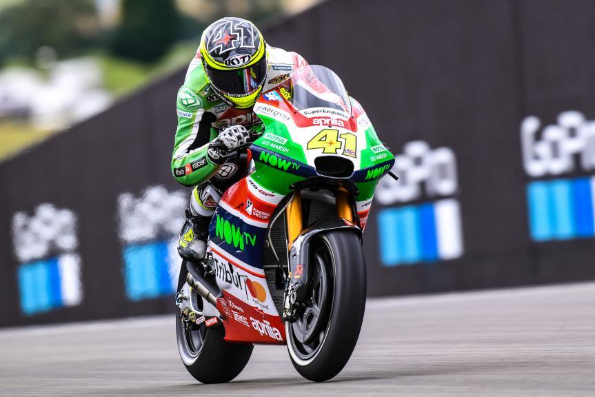 Aleix Espargaro, Aprilia Racing Team Gresini, GoPro Motorrad Grand Prix Deutschland