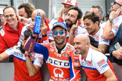 P2 and contract renewal for Petrucci at the #GermanGP