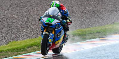 Morbidelli steals pole as Cortese flies the flag at home