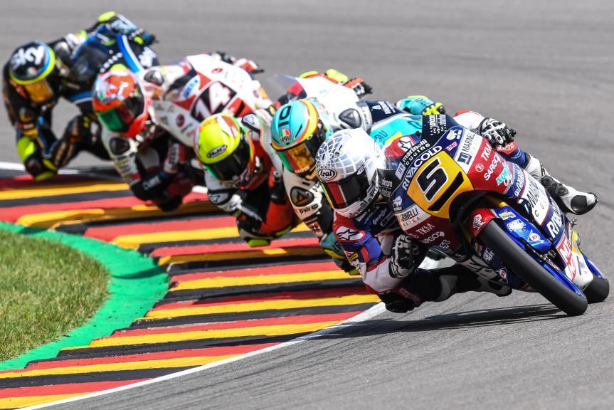 Romano Fenati, Joan Mir, Marcos Ramirez, GoPro Motorrad Grand Prix Deutschland