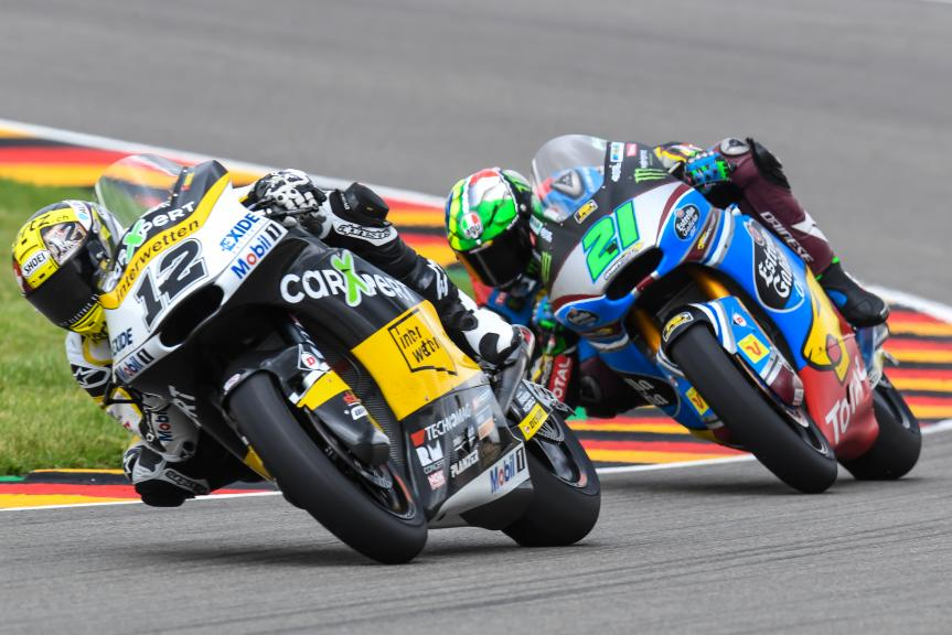 Thomas Luthi, Franco Morbidelli, GoPro Motorrad Grand Prix Deutschland