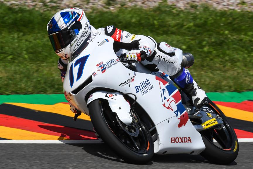 John Mcphee, British Talent Team, GoPro Motorrad Grand Prix Deutschland