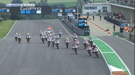The full race from Sunday at the Sachsenring Circuit