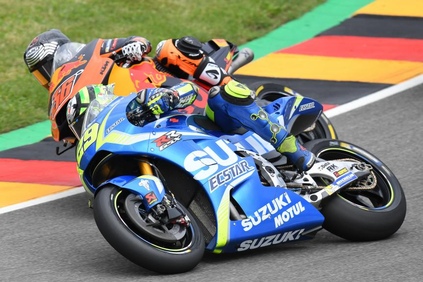 Andrea Iannone, Team Suzuki Ecstar, GoPro Motorrad Grand Prix Deutschland
