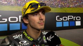 The SKY Racing TeamVR46 rider took an important 3rd place at the Sachsenring for his team