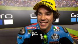 It was the sixth victory of the season for the Italian rider who increased his Championship lead