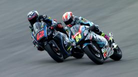 Some of the best overtaking moves from the Moto2 & Moto3 #GermanGP races.<br><br>1. Andrea Migno (Moto3) 69 points<br>2. Jules Danilo (Moto3) 61 points<br>3. Nakarin Atiratphuvapat (Moto3) 57 points<br>4. Hafizh Syahrin (Moto2) 51 points<br>5. Brad Binder (Moto3) 50 points