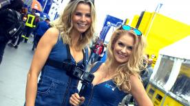 Retrouvez les paddocks girls du #GermanGP.
