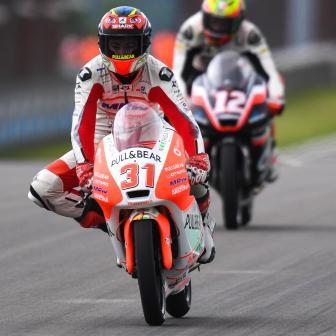 Warm up Moto3™, Fernandez davanti a tutti