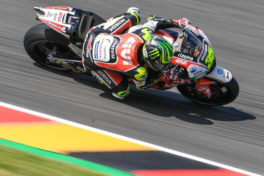 Cal Crutchlow, LCR Honda, GoPro Motorrad Grand Prix Deutschland
