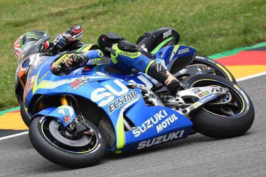 Alex Rins, Team Suzuki Ecstar, GoPro Motorrad Grand Prix Deutschland