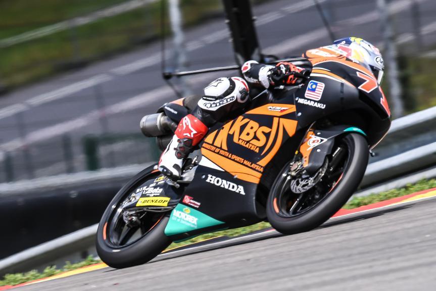 Ayumu Sasaki, SIC Racing Team, GoPro Motorrad Grand Prix Deutschland