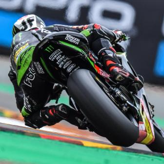 Folger, dalla seconda fila al primato nel warm up