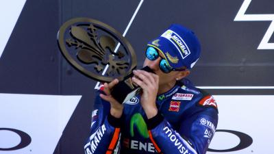 Viñales' 2017 performance according to racing legends