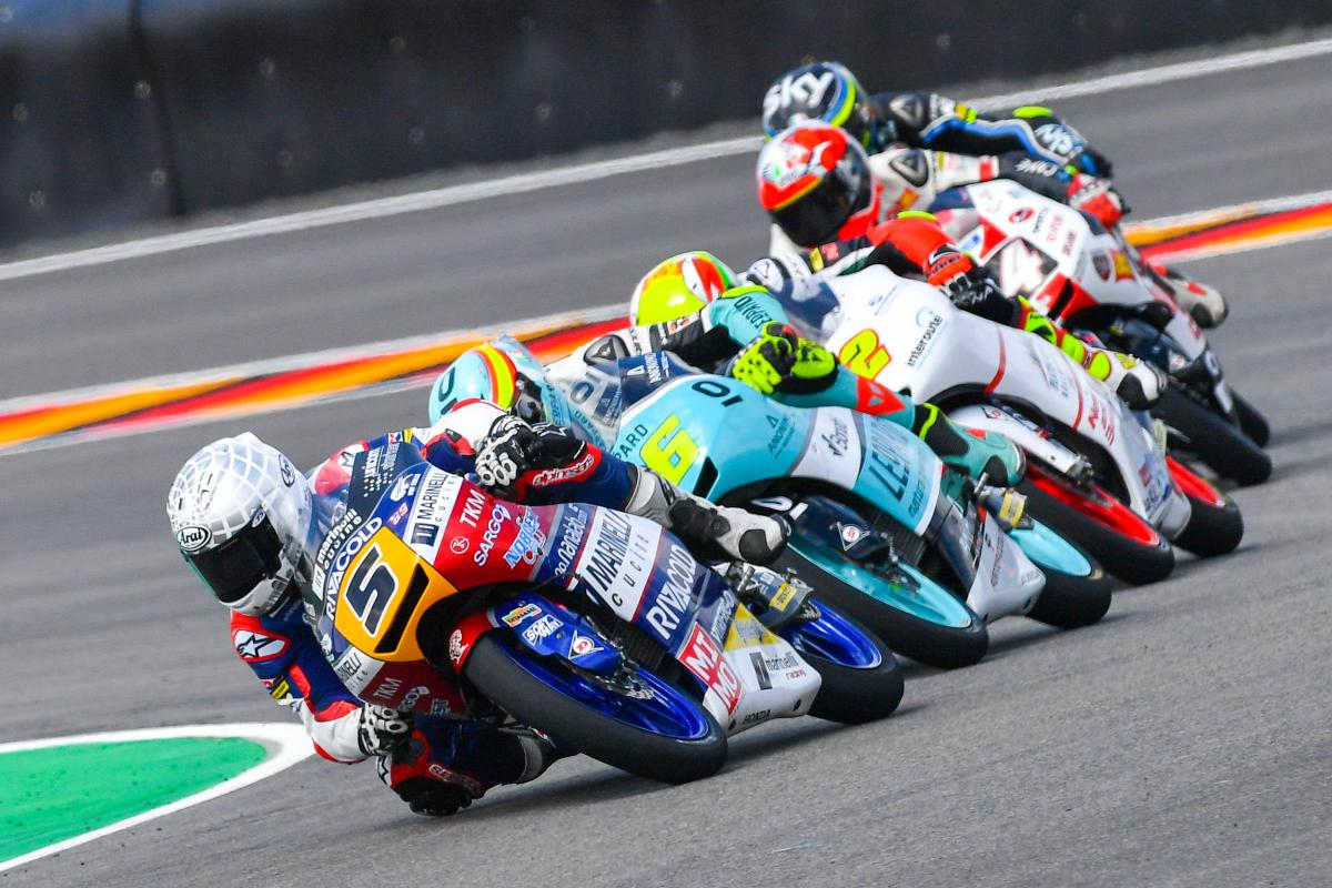 "Fenati: ""Second isn't first - but I'm happy"" | MotoGP™"
