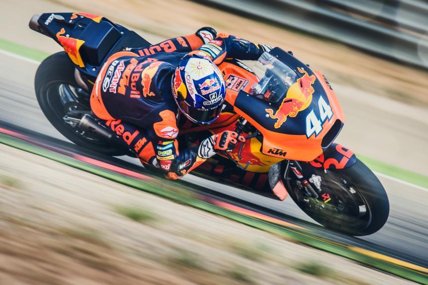 Red Bull KTM Factory Racing Team MotoGP test