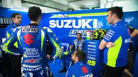 Team Manager of Suzuki, Davide Brivio, says the team still has a long way to go to be fully competitive in 2017