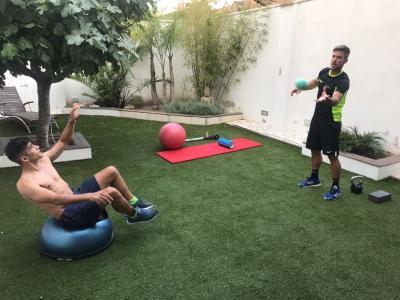 Martín avanza en su recuperación