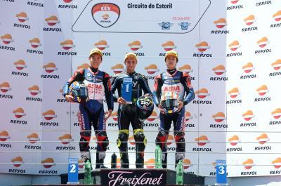 Foggia, Granado y González, más líderes al ganar en Estoril