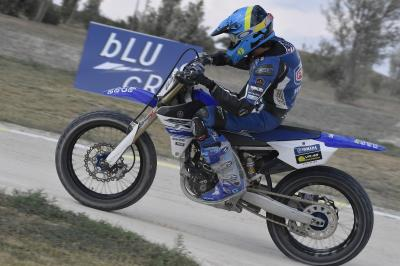 VR46 Master Camp talent take to the flat track