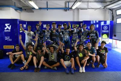Master Camp meet Rossi in Misano