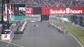 初参戦したジャック・ミラーをはじめ、中量級に参戦する中上貴晶やドミニケ・エガーターらが活躍した世界耐久選手権、鈴鹿8時間耐久ロードレースのハイライトビデオ。