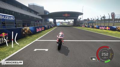 『MotoGP™ eSport Championship』~マルク・マルケスのデモラップ
