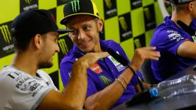 20 years after his first World Championship, Valentino Rossi discusses the level of the riders in the championship past and present