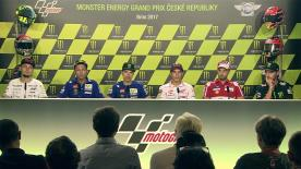 Everything you need to know from the official opening press conference at the #CzechGP.
