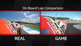 Want to see the difference between gameplay and genuine racing? Well here it is! A side-by-side comparison of on-track vs the in-game action of MotoGP™17.