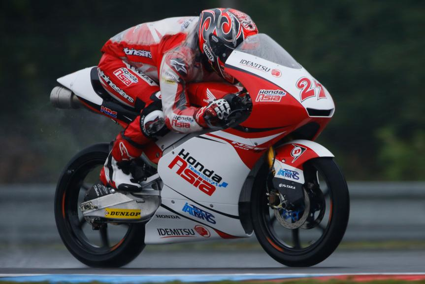 Kaito Toba, Honda Team Asia, Monster Energy Grand Prix České republiky