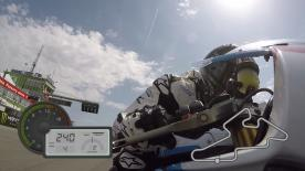 Jump on-board for a lap of the Brno Circuit, filmed exclusively using GoPro cameras.