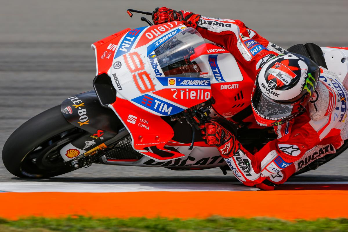 "Lorenzo: ""The fairing was better"" | MotoGP™"