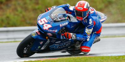 Pasini supreme on opening day at Brno