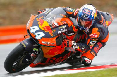 Oliveira outpaces Corsi and Vierge in rain-soaked FP1