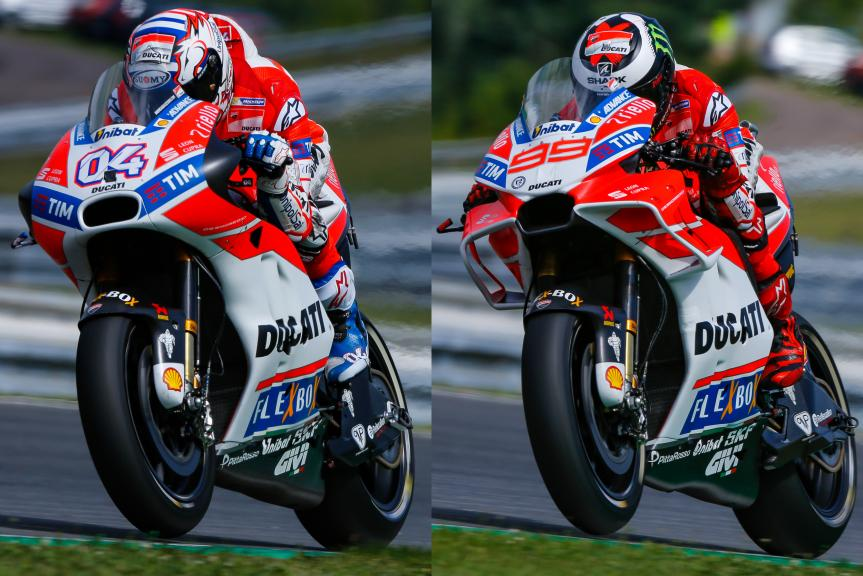 Ducati Team, Monster Energy Grand Prix České republiky