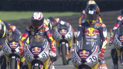 Watch: Red Bull MotoGP Rookies Cup Race 1 from Brno