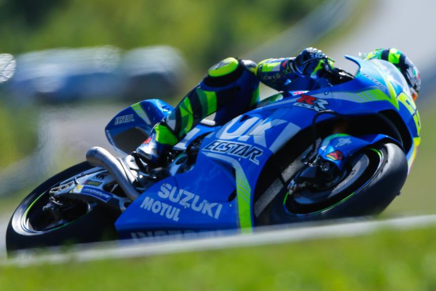 Andrea Iannone, Team Suzuki Ecstar, Monster Energy Grand Prix České republiky