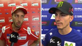 The  MotoGP™ riders give us feedback at the #CzechGP.